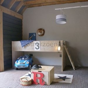 jongensbed super cool speelhut