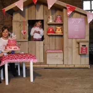 houten speelhuisje in de tuin winkel