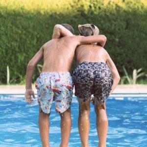 zwemmen met kids