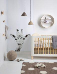 babykamer voor zowel jongen als meisje