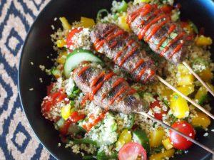 kebab salade bbq