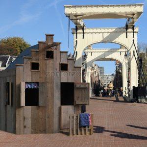 origineel houten speelhuisje voor de tuin