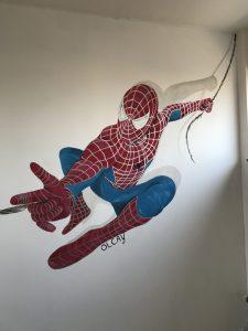 muurschildering zomerzoen I