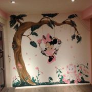 muurschildering zomerzoen XI