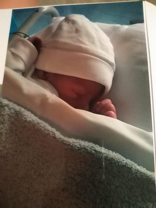 Is manlief op tijd voor de bevalling geboorte
