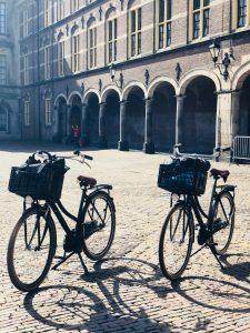 Stoer hotel in Nederland fietsen