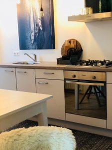 Stoer hotel in nederland keuken met vis