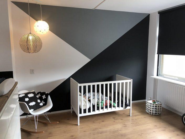 babykamerinspiratie zomerzoen zwart wit grijs