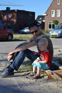 kinderkamer en moodboard blog Zomerzoen papa en zoon