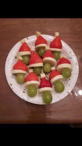 kersthapjes op school kerstmutsjes Zomerzoen