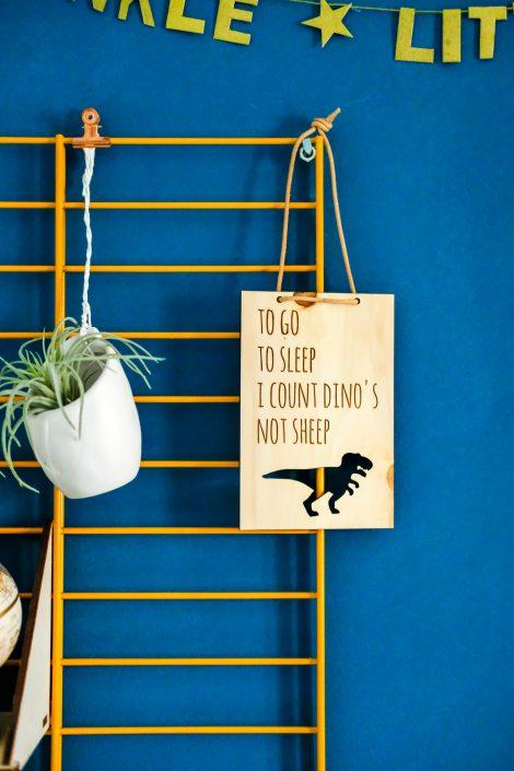 stoere quotes voor een junglekamer to go to sleep