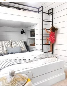 bunkbedden wit zomerzoen