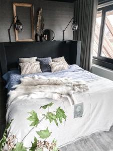 Een slaapkamer net als in een hotel