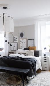 inspiratie voor een master bedroom scandic