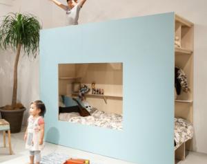 plywood in de kinderkamer
